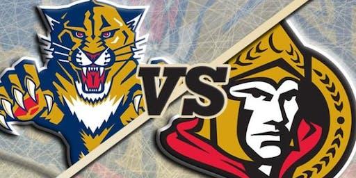 Spotlight Panthers Game (Florida Panthers vs. Ottawa Senators)