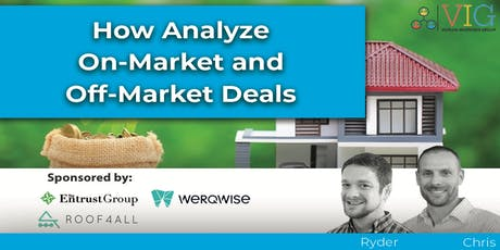 How to Analyze On-Market and Off-Market Deals tickets