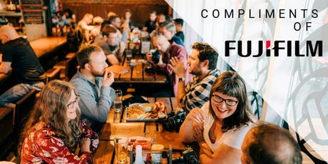 Beers & Cameras with Fujifilm tickets