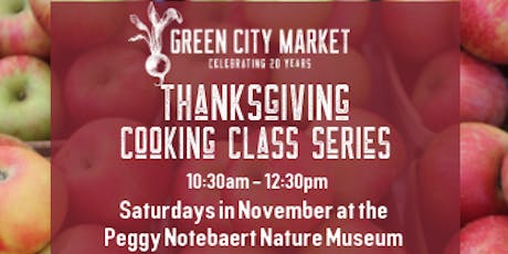 Thanksgiving Cooking Class Series: Stocks and Soup, Sides, and Apple Pie tickets