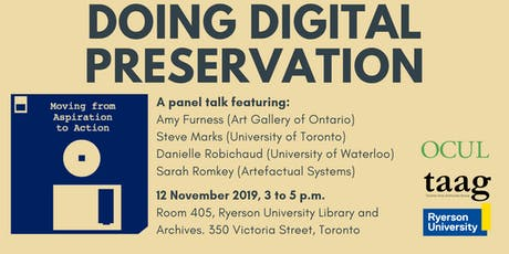 Doing Digital Preservation: Moving from Aspiration to Action - A Panel Talk tickets