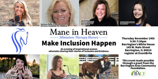 Mane in Heaven presents Make Inclusion Happen