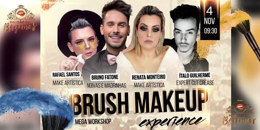 Workshop - Brush Makeup Experience - Dia Solidário