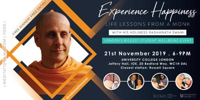Experience Happiness: Life Lessons From A Monk