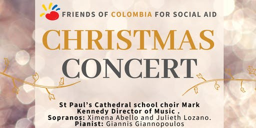 Christmas Concert - Friends of Colombia for social aid