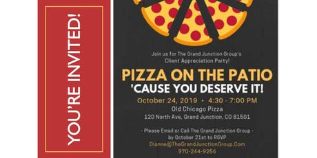 Pizza on the Patio tickets