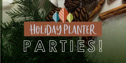 James Valley Garden Center Holiday Planter Parties