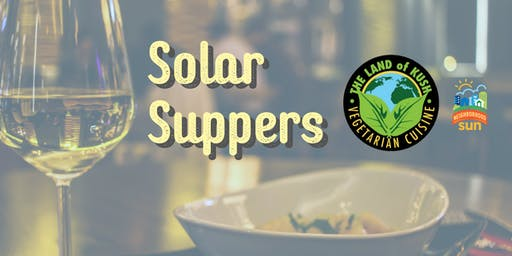 Solar Suppers -- Free Dining!