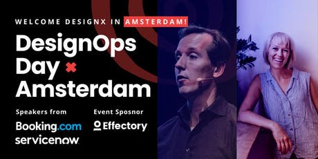 DesignOps Day w/ Design Leaders from Booking.com & ServiceNow tickets