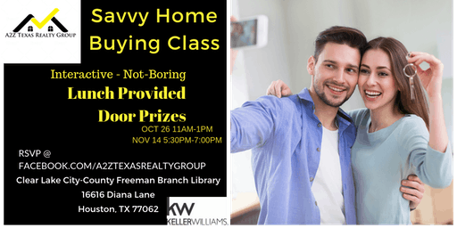 Savvy Home Buying Class