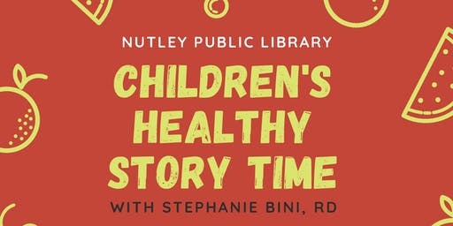 Children's Healthy Story Time (December 11 at 10:30 AM)
