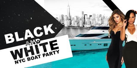 NYC BLACK & WHITE Boat Party Yacht Cruise Thanksgiving on MEGA YACHT INFINITY tickets