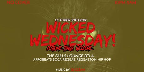 Wicked Wednesday (Costume Tings Welcome) tickets