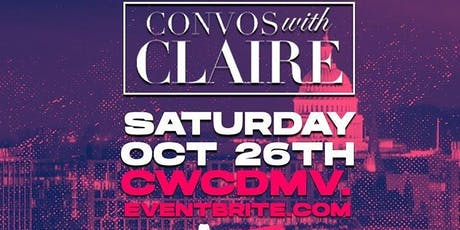 Conversations with Claire DMV 2019 tickets