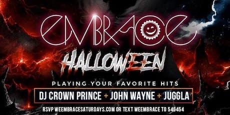 Embrace Halloween at 02 Lounge w/ DJ Crown Prince, John Wayne & Juggla tickets