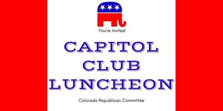 October Capitol Club Luncheon tickets