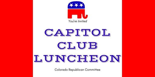 October Capitol Club Luncheon