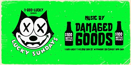 LUCKY SUNDAYS with DAMAGED GOODS & A-TRAIN tickets