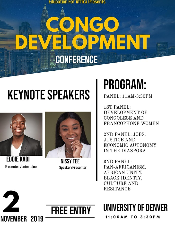Congo Development Conference(African Immigrants) image
