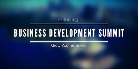 Exclusive Business Development Summit tickets