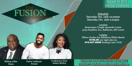 The Fusion Conference tickets