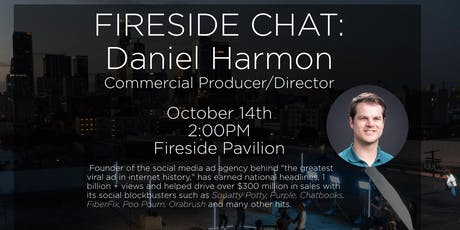 Fireside Chat: Daniel Harmon, Commercial Producer/Director tickets
