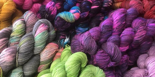 Learn to Dye Yarn Workshop