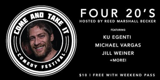 FOUR 20's: 4 Comics Doing 20 Minute Sets! Special Guests!