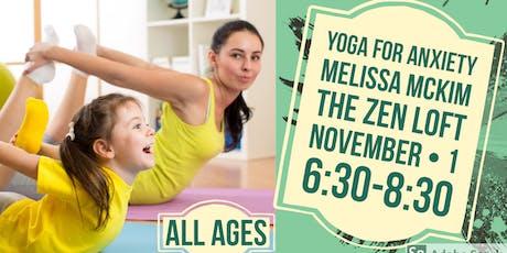 Yoga Workshop for Anxiety with Melissa McKim tickets