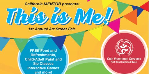 California MENTOR Presents: This is me!