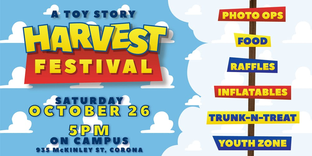 """Toy Story"" Harvest Festival"