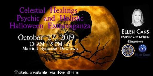 Ellen Gans at Celestial Healings Psychic & Holistic Halloween Extravaganza