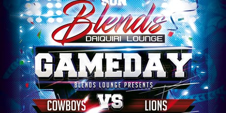 Cowboys vs Lions Watch Party tickets