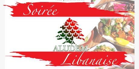 Soirée Libanaise | ALUDEM tickets