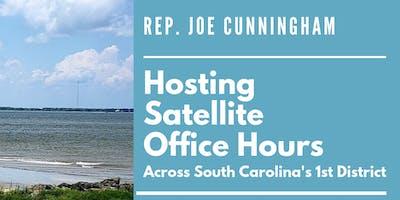 Rep. Cunningham's Moncks Corner Satellite Office Hours