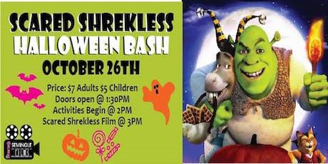 Scared Shrekless- Halloween Bash tickets