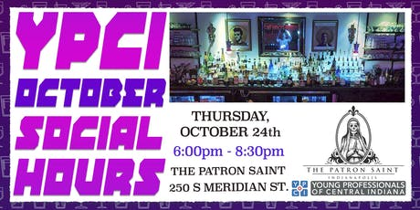 YPCI: October Social Hours at The Patron Saint pres. by ACS Signs tickets