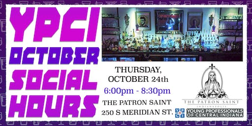 YPCI: October Social Hours at The Patron Saint pres. by ACS Signs