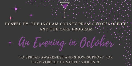 An Evening In October tickets