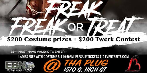 Freak Freak or Treat Halloween Bash