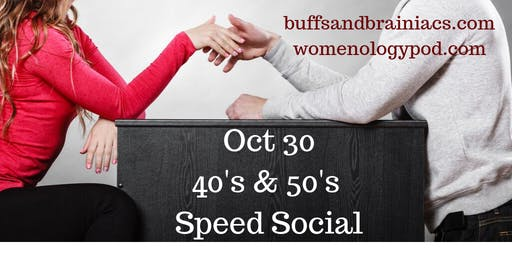 Speed Socializing for40's & 50's Professionals