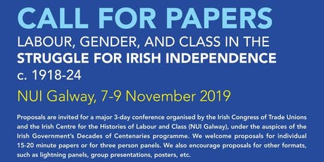 Labour, Gender and Class in the Struggle for Irish Independence, c 1918-24 tickets