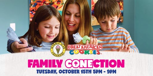 Marble Slab Creamery/Great American Cookie Company - Family CONEction