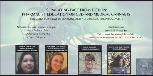 Pharmacist's Education on CBD and Medical Cannabis