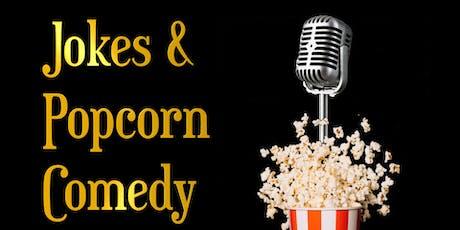 Jokes & Popcorn Comedy - Open Mic Tickets