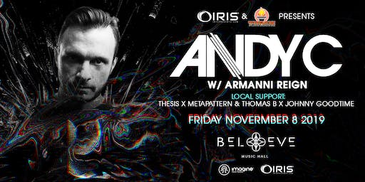 Andy C w/ Armanni Reign | IRIS ESP101 Learn to Believe | Friday November 8 - This event is EXTREMELY RARE & WILL 100% SELL OUT - WARNING: Less Than 200 tickets remain