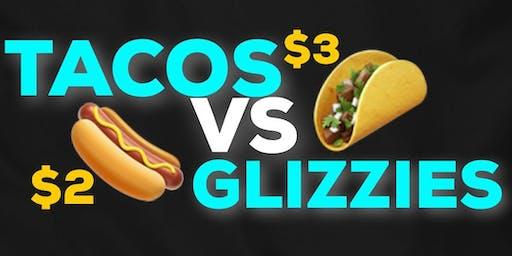 #NoSmokeTuesdays ($2 Glizzys, $3 Tacos & $5 Shots) Food/ Hookah/ Drinks