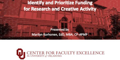 Brownbag Workshop: Finding and Prioritizing Funding - General Audience tickets