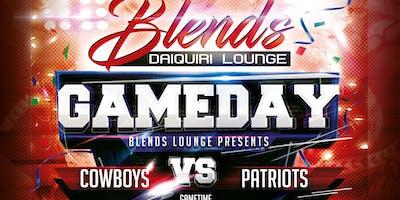 Cowboys vs Patriots Watch Party