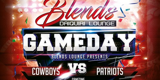Cowboys vs Patriots Watch Party